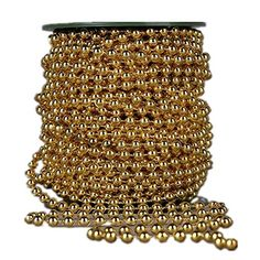 Ltvystore 82Feet25Meter Roll Gold Pearl String Party Garland Wedding Centerpieces Bridal Bouquet Crafts Decoration *** To view further for this item, visit the image link.(It is Amazon affiliate link) #2017