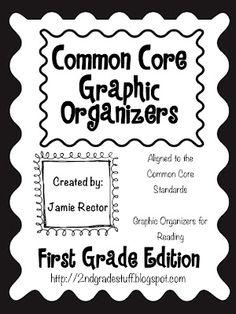Opinion Graphic Organizer 1st Grade | 2nd Grade Stuff: Common Core Graphic Organizers: 1st Grade Edition