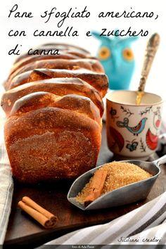 Pane sfogliato alla cannella (pull apart bread)   SICILIANI CREATIVI IN CUCINA   di Ada Parisi