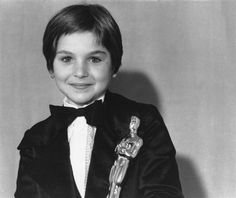 Tatum O'Neal at age 10, is the youngest actor to ever win an Oscar in a competitive category. (Best Supporting Actress, Paper Moon in 1973)