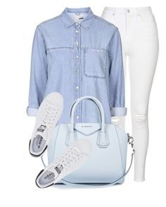 """""""Light"""" by monmondefou ❤ liked on Polyvore featuring Topshop, Givenchy and adidas Originals"""