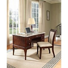 Marseille Solid Wood Side Chair Steve Silver Company Side Chairs Dining Chairs Kitchen & D