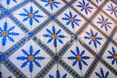 Arabic tiles Marrakesh, Morocco. (Marakesh, Morocco)