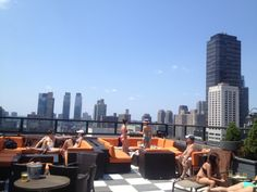 3000 sq foot rooftop lounge and bar and nighclub