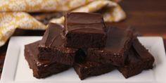 The fudgiest 3 ingredient brownies EVER.