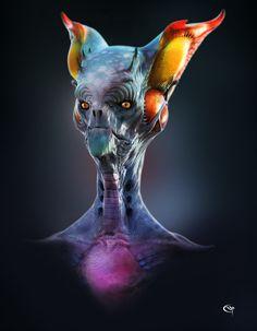 Alien civilisation 4, pascal sguera on ArtStation at https://www.artstation.com/artwork/nOlAE