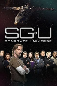 TV Show or Movie Poster of the Week:  STARGATE UNIVERSE (2009-2011) #SGU