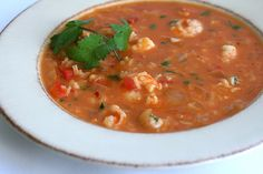 Brazilian Shrimp Soup: Made this amazing, highly flavored shrimp soup that was to die for. Highly recommend it! especially for pescetarians.