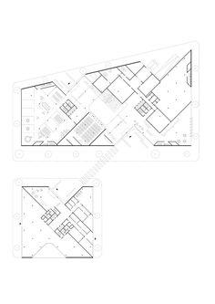 HENN Architects Wins Competition to Design New Zalando Headquarters in Berlin,Courtesy of HENN Architects Factory Architecture, Museum Architecture, Architecture Plan, Conceptual Model Architecture, Auditorium Design, Win Competitions, Deconstructivism, Diagram Design, Hospital Design