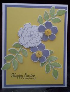 Easter Card (TSC0301) by ~CA~ - Cards and Paper Crafts at Splitcoaststampers-Secret Garden set