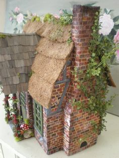 Cinderella Moments: Frog's Cottage Custom Dollhouse