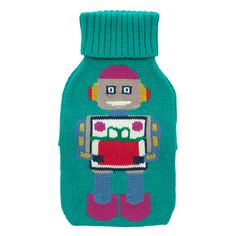 #CKCrackingChristmas  Robots Hot Water Bottle | Festive Fashion | CathKidston