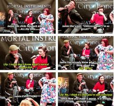 Lily and Jamie interview