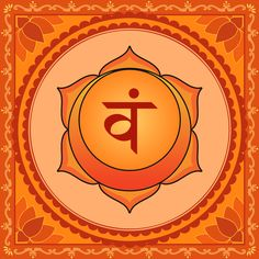 °Sacral Chakra ~ The Sacral Chakra (Svādhishthāna Chakra in Sanskrit) marks the second stage of human evolvement. The level of consciousness of the Svādhishthāna Chakra is the subconcious, the sphere of consciousness that lies between sleeping & waking. We have a vague idea of what is contained here, but no complete or clear knowledge. Even when our consciousness is centred, other levels of consciousness always influence our perceptions & actions.