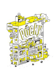 POCKY : OLDSCHOOL 2 BOOKS on Behance