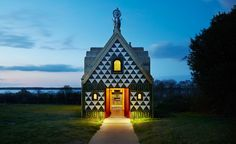 FAT and Grayson Perry's gingerbread house opens for bookings   Architecture   Wallpaper* Magazine