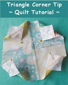 Sewing and Quilting Tutorials - Geta's Quilting Studio