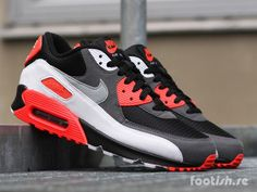 wholesale dealer 850e0 fe0ea Nike Air Max 90 OG 725233-106 725233-006   Footish