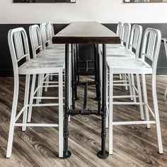 Best Communal Table Images On Pinterest Chairs Dining Table - High top communal table