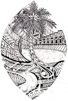 Guam tribal seal coloring page