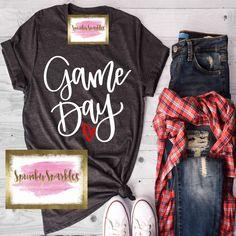 Game Day Shirt Baseball Mom Shirts Basketball Shirt Football Mom Shirts Volleyball Shirt Soccer T-Shirt Sports Mom Tee Tank Top Volleyball Shirts, Baseball Mom Shirts, Sports Mom Shirts, Cute Shirts, Soccer Mom Shirt, Basketball Shirts For Moms, Softball, Kids Football Shirts, Cheer Mom Shirts