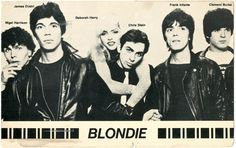 Original Blondie Fan Cub postcard, mailed by Roberta Bayley to Rat Scabies , Roberta BAYLEY - BeatBooks - Rare and used books, magazines and ephemera from the Beat Generation, the Sixties CounterCulture, and the Avant-Gardes
