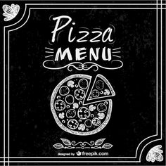 pizza chalkboard vector - Google Search