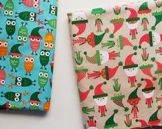 jingle christmas fabric / ann kelle