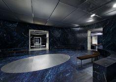 AMO simulates infinite catwalk for Prada AW15 menswear
