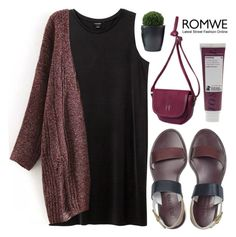 """""""#Romwe"""" by credentovideos ❤ liked on Polyvore featuring Monki, Korres, Jil Sander, women's clothing, women's fashion, women, female, woman, misses and juniors"""