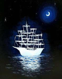 Midnight Ghost Ship