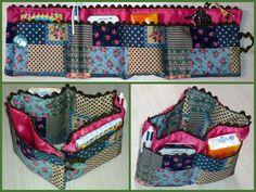 Organitzador de bolsos. Handbag organizer. Marieta #diy #sewing #ifilgood