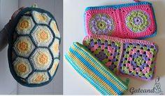 Estuches y mochila Crochet / Vuelta al cole
