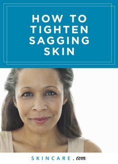 Sagging skin is a premature sign of aging that can reveal your true age and lead to wrinkles and fine lines in your complexion and on your body. Here we share how to tighten your skin and reduce the appearance of sagging skin using a hydrating facial serum, an anti-wrinkle cream that can smooth fine lines and wrinkles, a body tightening treatment that targets sagging, loose skin, and an anti-aging day cream that can lift and firm your skin.   Powered by L'Oréal