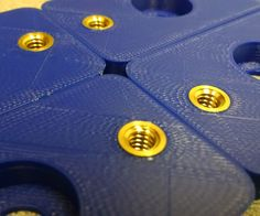 Connecting mechanical components can be a challenge with 3D printing. Tapping functional holes in plastic that can support a load is nearly impossible. I want to...