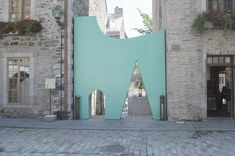Fontaine/Fortin/Labelle Created an Unusual Passage in Québec City
