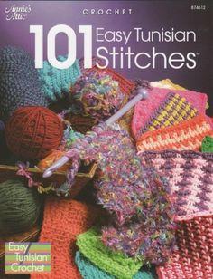 tunisian crochet | 101 Easy Tunisian Stitches Stitches Crochet Patterns Crochenit ...