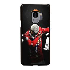 MANCHESTER UNITED PAUL POGBA DAB Samsung Galaxy S4 S5 S6 S7 S8 S9 Edge Plus Note 3 4 5 8 Case Cover