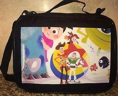 TRADING BOOK FOR DISNEY PINS Pixar Art Toy Story Monsters Inc  LRge/MED PIN BAG