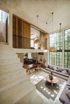 Dream Home Design, My Dream Home, Home Interior Design, Interior Architecture, Modern Home Interior, Modern Home Design, Design Homes, Kitchen Interior, Art Loft