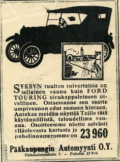 Ford Touring, 1920-luku