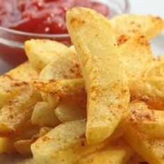 "Tail Burner Firehouse French Fries | ""French Fries with spice! Derived from firefighters! Play with the amount of seasonings to best suit your taste and tolerance for heat!"""