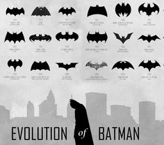 Evolution of batman signals