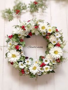 Wreath Wreath Crafts, Diy Wreath, Easter Wreaths, Holiday Wreaths, Corona Floral, Funeral Flowers, How To Preserve Flowers, Arte Floral, Summer Wreath