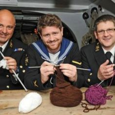 Navy Knitters