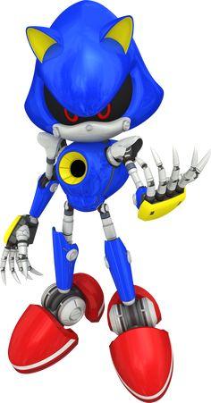 sonic+the+hedgehog | Sonic The Hedgehog: The Rise of Metal Sonic