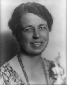 """Eleanor Roosevelt. One of the most outspoken and prominent First Ladies. Mrs. Roosevelt took a larger role in the politics of the presidency than First Ladies before her had. She was known for taking public stances on the rights of women and children and stood against racial discrimination. """"No one can make you feel inferior without your consent."""" -Eleanor Roosevelt"""