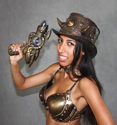 Someone's ready for a good 'ol fashioned steampunk halloween