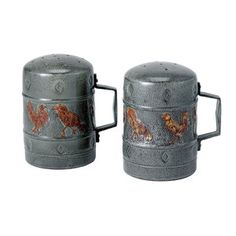 Rooster Salt And Pepper Set, now featured on Fab.