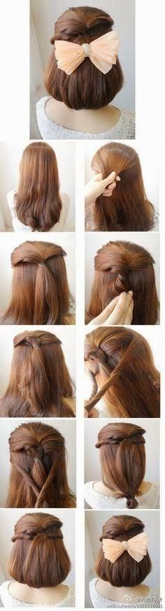 Easy But Effective Hair Style Steps